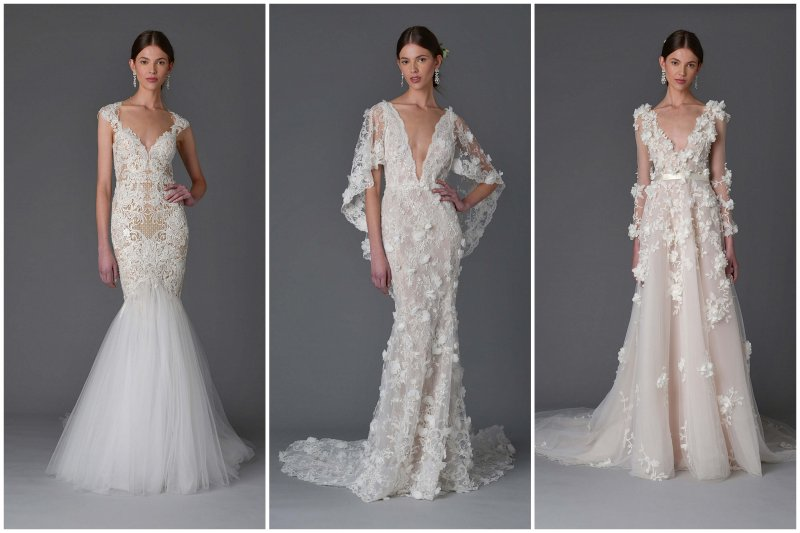 Pohádkové svatební šaty Marchesa v jarní kolekci 2017  d1c0de1492